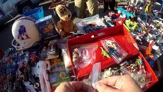 Video Live Retro Toy Hunting Episode #9 Flea Market Finds.... GI Joe, Transformers, Voltron.... MP3, 3GP, MP4, WEBM, AVI, FLV Juli 2018