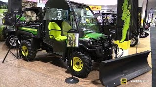 7. 2016 John Deere Gator XUV 825i Utility ATV - Walkaround - 2015 Toronto Snowmobile & ATV Show