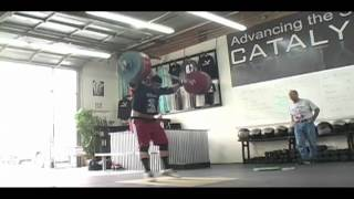 Brian Wilhelm Clean And Jerk 207kg - Brian Wilhelm works up to 207kg in the Clean and