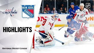 NHL Highlights | Capitals @ Rangers 11/20/19 by NHL