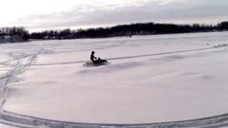 10. arctic cat f6 at the lake
