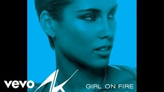 Alicia Keys videoklipp Girl On Fire (Bluelight Version)