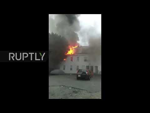 USA: 1 killed following suspected gas explosions near Boston