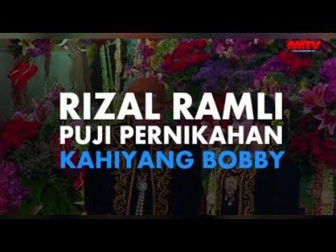 Rizal Ramli Puji Pernikahan Kahiyang Bobby