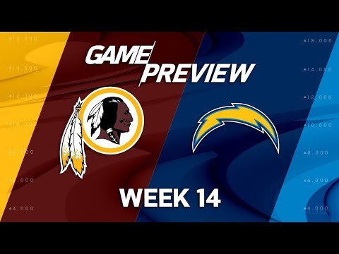 Video: Washington Redskins vs. Los Angeles Chargers | NFL Week 14 Game Preview | Move the Sticks