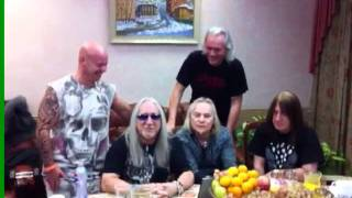 Uriah Heep Tour Video 2011