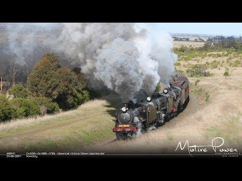 *2017 06 24 - Steamrail Victoria Steam Spectacular - #8247 & #8248 - D3 639 + A2 986 + R761