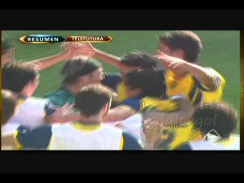 Estudiantes Tecos vs America 1-3 Clausura 2011 jornada 15  con un cañonazo de Reyna
