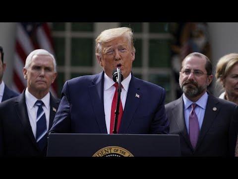 Εθνική κατάσταση έκτακτης ανάγκης κήρυξε ο Ντόναλντ Τραμπ…