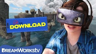 Video Ride Toothless with Oculus Rift | THE DREAMWORKS DOWNLOAD MP3, 3GP, MP4, WEBM, AVI, FLV Juli 2018