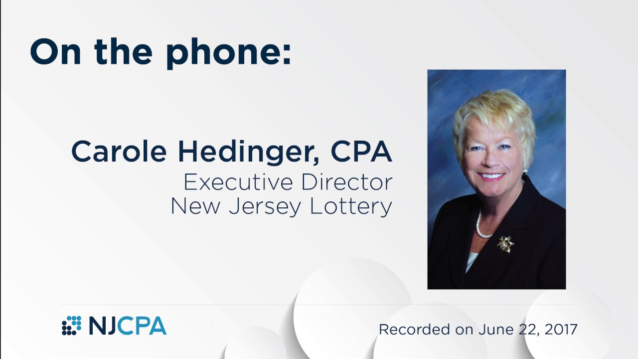 A Discussion with Carole Hedinger about Allocating Lottery Revenue to the Pension