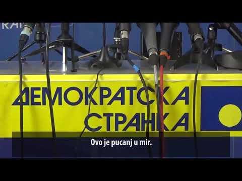 Шутановац: Пуцањ у Оливера Ивановића је пуцањ у мир! (16.01.2018.)