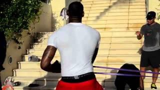 LeBron James and  Dwyane Wade preparing for upcoming NBA season