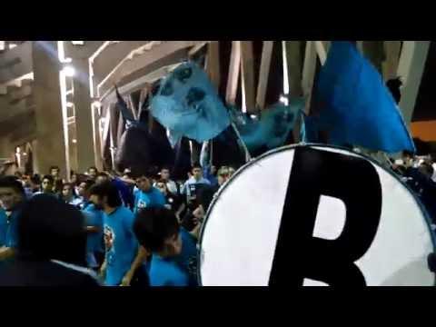 Entrada de la primera barra - Los Piratas Celestes de Alberdi - Belgrano