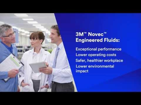 Precision cleaning using 3M™ Novec™ Engineered Fluids