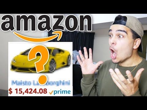 Buying 100% Random Amazon Items NO MATTER WHAT! (NOT CLICKBAIT CHALLENGE)