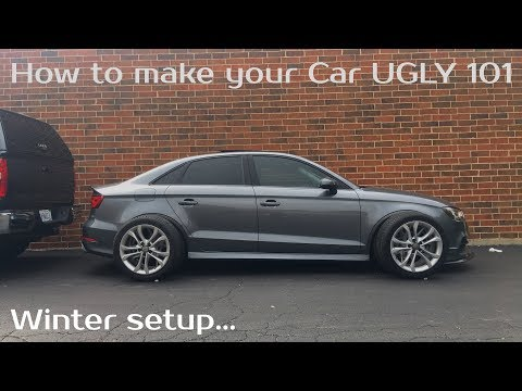 Making my car look uglier | 2015 Audi A3