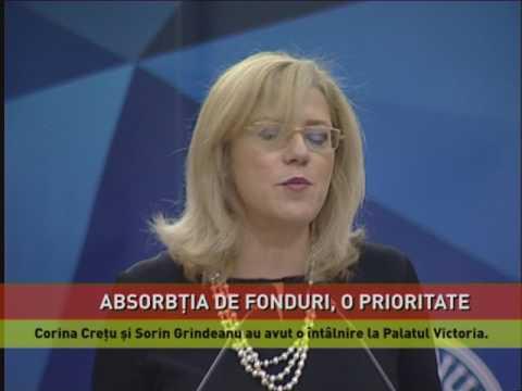 Absorbția de fonduri europene, o prioritate pentru România