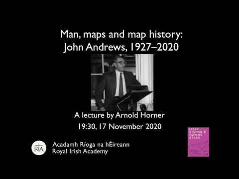 Man, maps and map history: John Andrews, 1927–2019