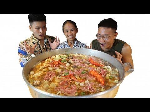 Bà Tân Vlog - Làm Nồi Lẩu Kim Chi Siêu Cay Khổng Lồ Sẽ NTN - Thời lượng: 17:17.