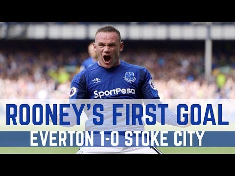 Video: WAYNE ROONEY'S FIRST COMPETITIVE EVERTON GOAL SINCE 2004