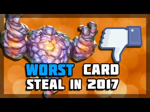 Hearthstone - Worst Card Steal in 2017 (видео)