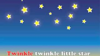 Twinkle Twinkle Little Star, Nursery Song for Children