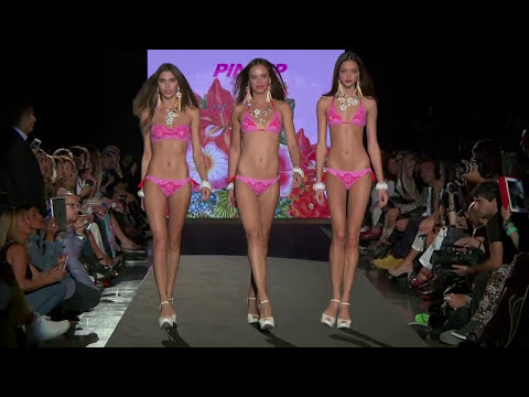 catwalk - One of the most beautiful Fashion Show for the beachwear brand Pin-Up Stars during the Milan Fashion Week. Guests Star Cecilia Capriotto and Fiammetta Cicogn...