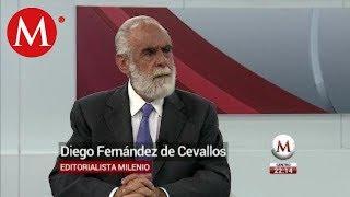 Diego Fernández de Cevallos habla sobre acusaciones en contra de Ricardo Anaya
