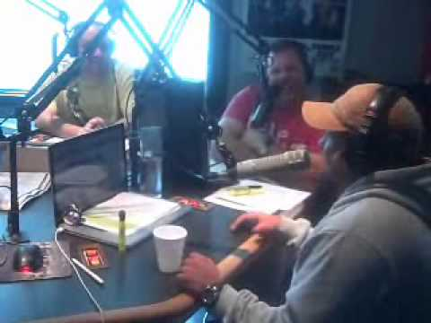 Steve Trevino Interview with The Show on Rock 105.3 pt. 1