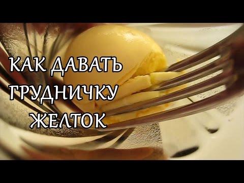 Прикорм: как давать желток грудничку?
