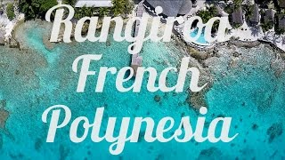 Rangiroa French Polynesia  City new picture : Rangiroa, French Polynesia, Aerial Drone Video