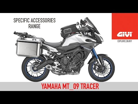 Specific accessories range for YAMAHA MT_09 TRACER, made by GIVI