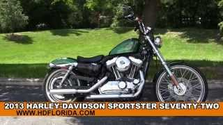 1. Used 2013 Harley Davidson Sportster Seventy-Two Motorcycles for sale