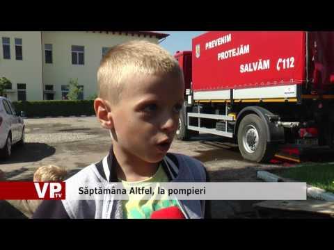 Săptămâna Altfel, la pompieri