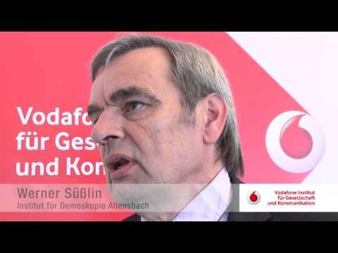 Werner Süßlin zur Studie des Vodafone Instituts