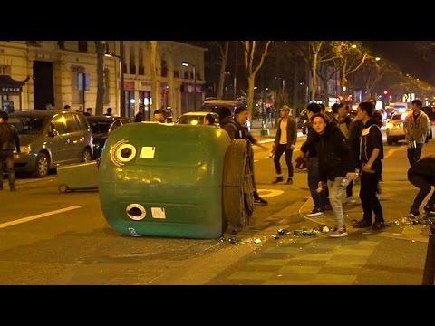 Παρίσι: Βίαιες συγκρούσεις για το θάνατο Κινέζου από αστυνομικά πυρά