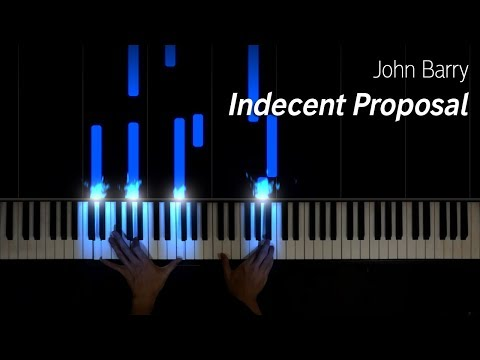 John Barry - Indecent Proposal, piano cover