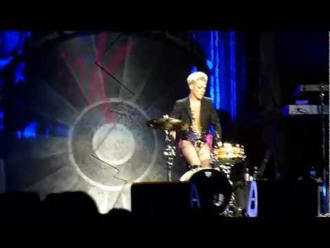 xcel - Pink Drums Solo HD-Good,Sound-Good- P!nk
