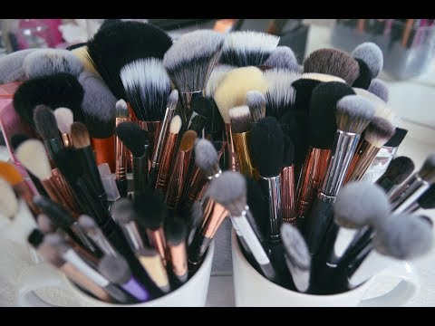 Make up - HOW TO CLEAN MAKEUP BRUSHES AT HOME