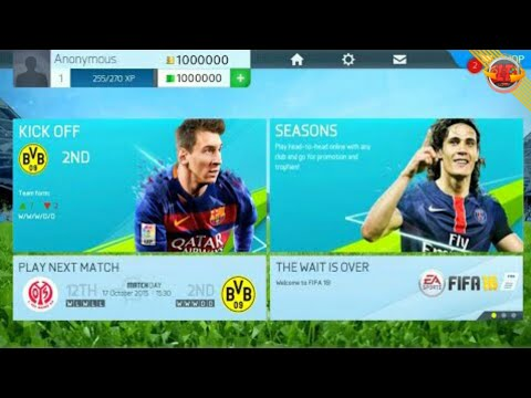 FIFA 16 MOD 18 APK & OBB LITE ANDROID ONLINE DOWNLOAD ATUALIZADO 2018 ❞