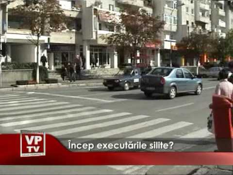 Incep executarile silite