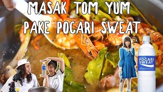 Video TOM YUM + POCARI SWEAT = ABSURD Tapi ENAK ft. Bella Tanesia MP3, 3GP, MP4, WEBM, AVI, FLV November 2018