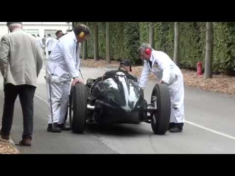 Ferrari Service Bay Area – Angelo Zucchi Motorsports Presents – Great 1950 BRM V16  600hp Race Car.