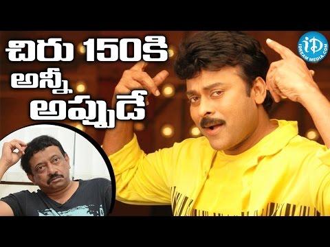 Megastar Chiranjeevi 150th Movie Happening Secretly