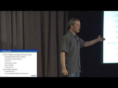 Atlassian Summit 2013: The Enterprise Agility Model