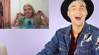 Video HAIRDRESSER REACTS TO ANOTHER EPIC BLEACH FAIL! (lol never gets old) |bradmondo MP3, 3GP, MP4, WEBM, AVI, FLV Januari 2019