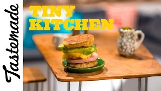 Tiny Breakfast Sandwich l Tiny Kitchen by Tastemade