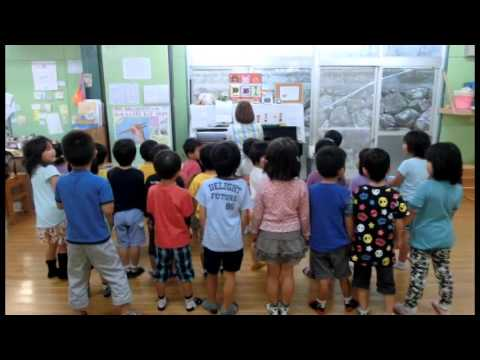 歌ってみた!僕らはちびっこ消防隊 加津佐町若木保育園