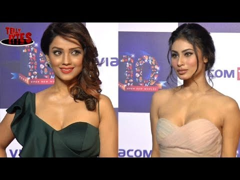 Mouni and Ada talk about Naagin 3 On Colors party
